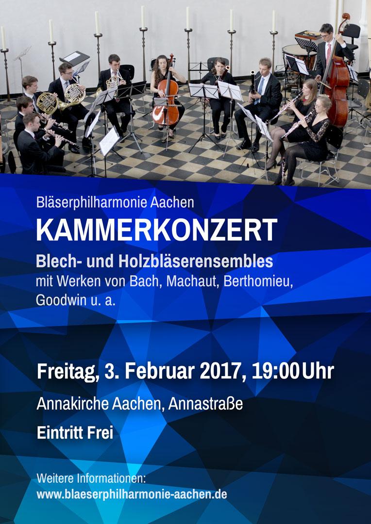 2. Kammerkonzert Plakat